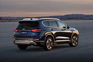 Hyundai Santa Fe 2019 tại Mỹ giá từ 25.500 USD