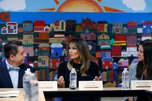 Đệ nhất phu nhân Mỹ lần thứ 2 thăm nơi ở trẻ nhập cư