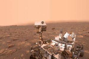 Bão bụi kinh hoàng phủ bề mặt hành tinh Đỏ