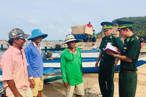 Những người lính đảo Hòn Thơm
