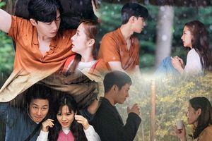 Cảnh 'trú mưa' trong 'Thư ký Kim' gợi nhớ loạt phim của 'Chị đẹp' Son Ye Jin