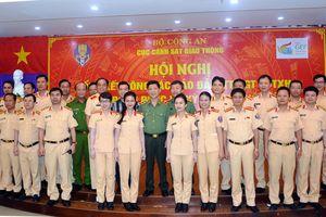 Lực lượng CSGT để lại nhiều ấn tượng cho đại biểu GEF6