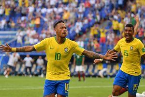 Neymar và Firmino lập công đưa Brazil vào tứ kết