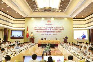 Hội nghị trực tuyến Chính phủ và các địa phương: Quyết tâm hành động từ cả hệ thống