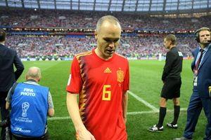 Bị loại khỏi World Cup, Iniesta cay đắng nói lời chia tay ĐT Tây Ban Nha