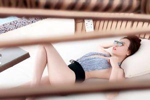 Đường cong nóng bỏng của bạn gái Cường Đô la