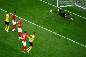 Đánh bại Thụy Sỹ, Thụy Điển tiến thẳng vào tứ kết