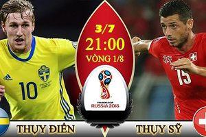 Đội hình thi đấu, danh sách cầu thủ trận Thụy Điển vs Thụy Sĩ tối nay