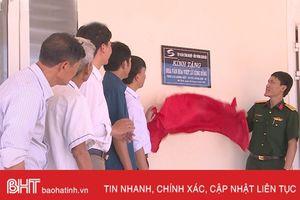 Viettel Hà Tĩnh hỗ trợ các xã miền núi 2 tỷ đồng xây dựng nhà văn hóa thôn