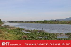 Nắng nóng kéo dài, Nhà máy cấp nước Bắc Thạch Hà 'thấp thỏm' nguồn cấp