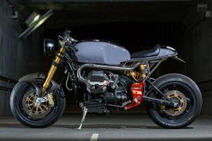 Chi tiết xế độ Moto Guzzi V11 cực hiếm ở Nhật Bản