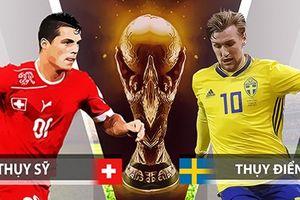 Đội hình ra sân trận Thụy Điển vs Thụy Sĩ: Shaqiri thách thức Lindelof