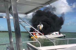 Tàu du lịch tại Bahamas gặp nạn, 11 người thương vong