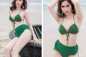 Princess Ngọc Hân tung ảnh bikini khoe 3 vòng nóng rực ngày hè