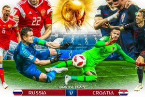 Thông tin đáng chú ý trước trận Nga vs Croatia (1h00 ngày 8.7)