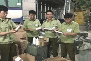 Đội QLTT số 2 Lạng Sơn liên tiếp bắt giữ hàng nhập lậu