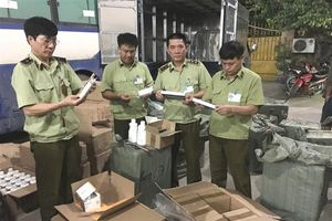Chặn đứng 1.970 sản phẩm mỹ phẩm nhập lậu