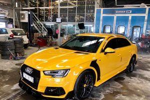 Audi A4 khoác áo mới đậm chất thể thao độc đáo ở TP.HCM