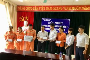 Công đoàn Công ty Điện lực Lai Châu đồng hành trong công tác khắc phục hậu quả mưa lũ
