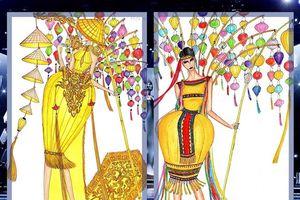 Top 6 thiết kế trang phục dân tộc cho đại diện Việt Nam tại Miss Universe