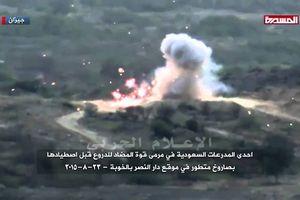 Houthi diệt gần 100 xe bọc thép liên quân