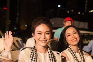 Hoa hậu, á hậu Việt đẹp hút hồn bên dàn siêu xe khủng