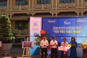 Trao giải Cuộc thi ảnh nghệ thuật du lịch lần thứ 8 'Tôi yêu Việt Nam'