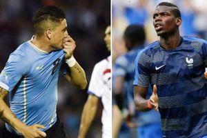 Pháp vs Uruguay: Màn tái ngộ của hai thế hệ tài năng