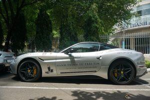 Ferrari California T của đại gia Trung Nguyên tái xuất Sài Gòn
