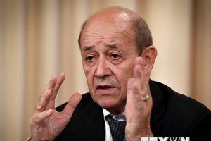 Ngoại trưởng Pháp: Châu Âu không thể hỗ trợ Iran trước tháng 11