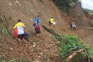 Lai Châu: 10 ngày sau mưa lũ, nhiều bản vẫn đang bị cô lập