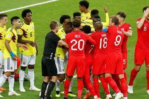 Hậu vệ Anh: Colombia là đội 'chơi bẩn nhất' mà tôi từng gặp