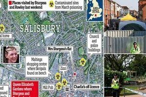Vụ đầu độc Novichok ở Anh: 2 nạn nhân nghi bị nhiễm độc tại nhà