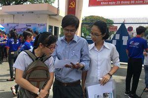 Trường ĐH đầu tiên tại TP.HCM công bố điểm xét tuyển