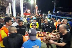 Thái Lan: Lật tàu chở khách du lịch Trung Quốc, 49 người mất tích