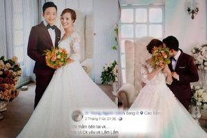 Chú rể 26 tuổi đăng loạt ảnh cưới, khẳng định yêu vợ 62 tuổi nhiều lắm!