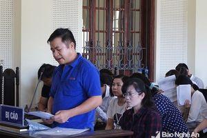 Nguyên Giám đốc phòng giao dịch Eximbank Đô Lương xin hưởng án tù treo