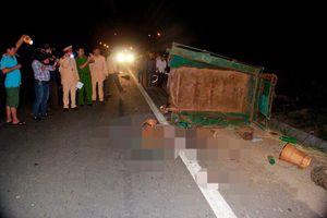 Ô tô tải va chạm máy cày, 22 người thương vong