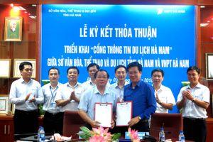VNPT được lựa chọn triển khai Cổng thông tin du lịch cho tỉnh Hà Nam