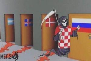 Cạn lời với loạt ảnh chế 'thần chết' Croatia tại World Cup 2018
