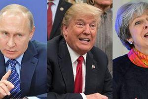 Tổng thống Donald Trump sẽ nói về Novichok khi đến Anh