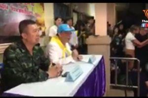 Họp báo: Hải quân Thái Lan xác nhận đã cứu được 4 người, chiến dịch tiếp theo dự kiến vào hôm nay 9.7