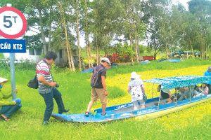 Nhìn qua khu dự trữ sinh quyển Kiên Giang