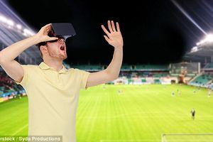 Cẩn trọng khi dùng kính thực tế ảo xem bóng đá World Cup