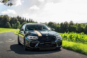 Cận cảnh bản độ BMW M5 713 mã lực