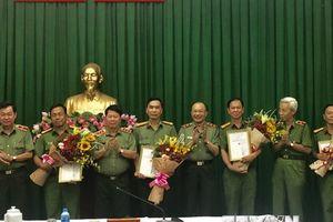 Khen thưởng Công an TP.HCM về chiến công triệt phá tổ chức khủng bố