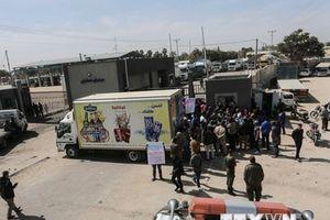 Israel đóng cửa khẩu Kerem Shalom giao thương chính tại Dải Gaza