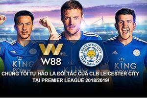 W88 trở thành đối tác chính thức toàn cầu của CLB Leicester City