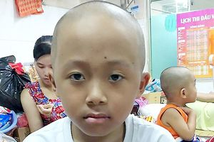 Nhà nghèo, con trai bị bệnh ung thư máu