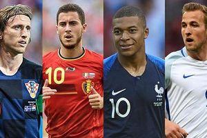 Chân dung 4 đội tuyển mạnh nhất World Cup 2018